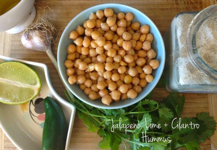 Jalapeno Lime Cilantro Hummus