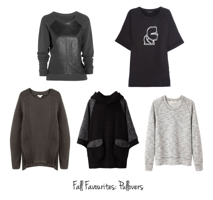 Fall Favourites: Pullovers