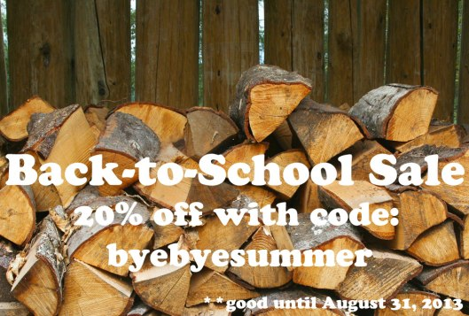 Fox and Rook Back to School Sale