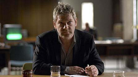 Control yourself, Hollis! Kenneth Branagh as Kurt Wallander - Photo from www.bbc.co.uk
