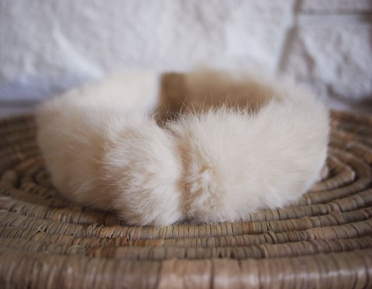 Vintage 80's Faux Fur Headband