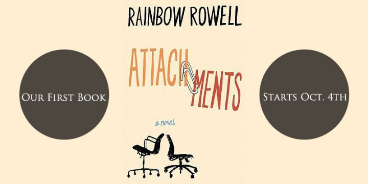 Forest Friends Book Club - Rainbow Rowell - Attachments