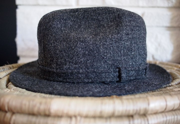 Vintage 60's Harris Tweed Stetson