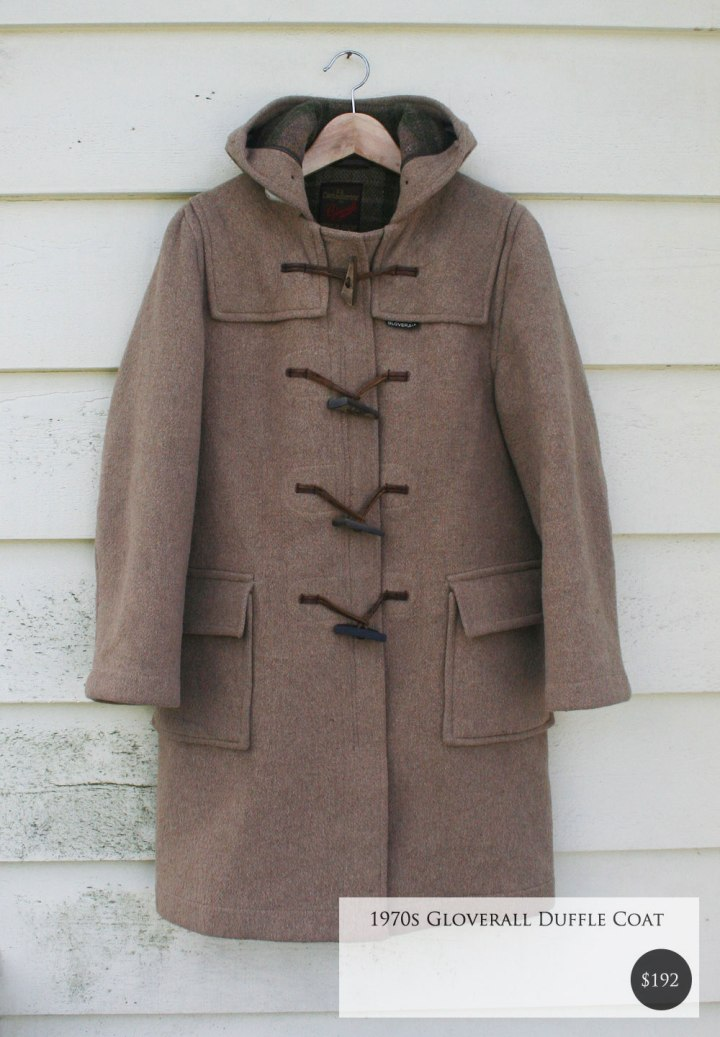 Vintage Gloverall Coat -Fox and Rook