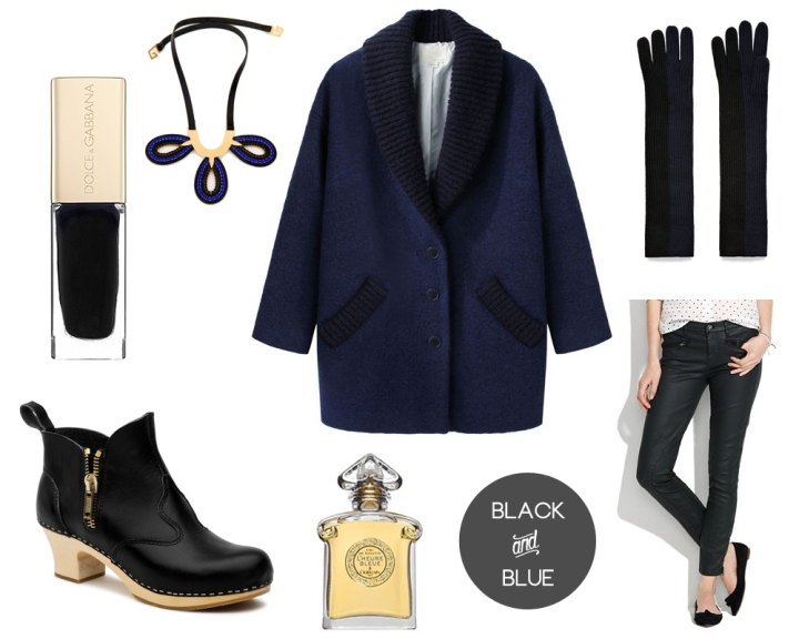 Wear it // Black and Blue