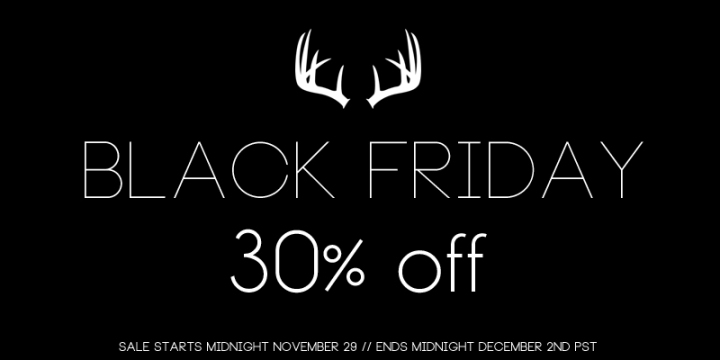 Fox and Rook // Black Friday Sale