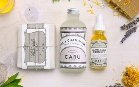 Caru Skin Care Co. Chamomile Skin Rescue Kit