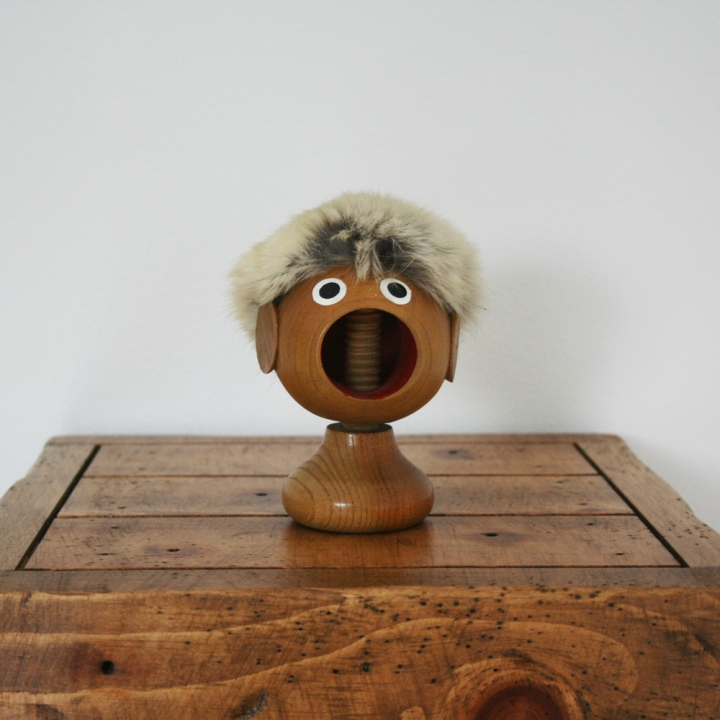 Fox and Rook / Danish Teak Nutcracker